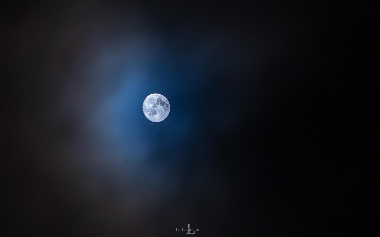Månen 260121 150 mm