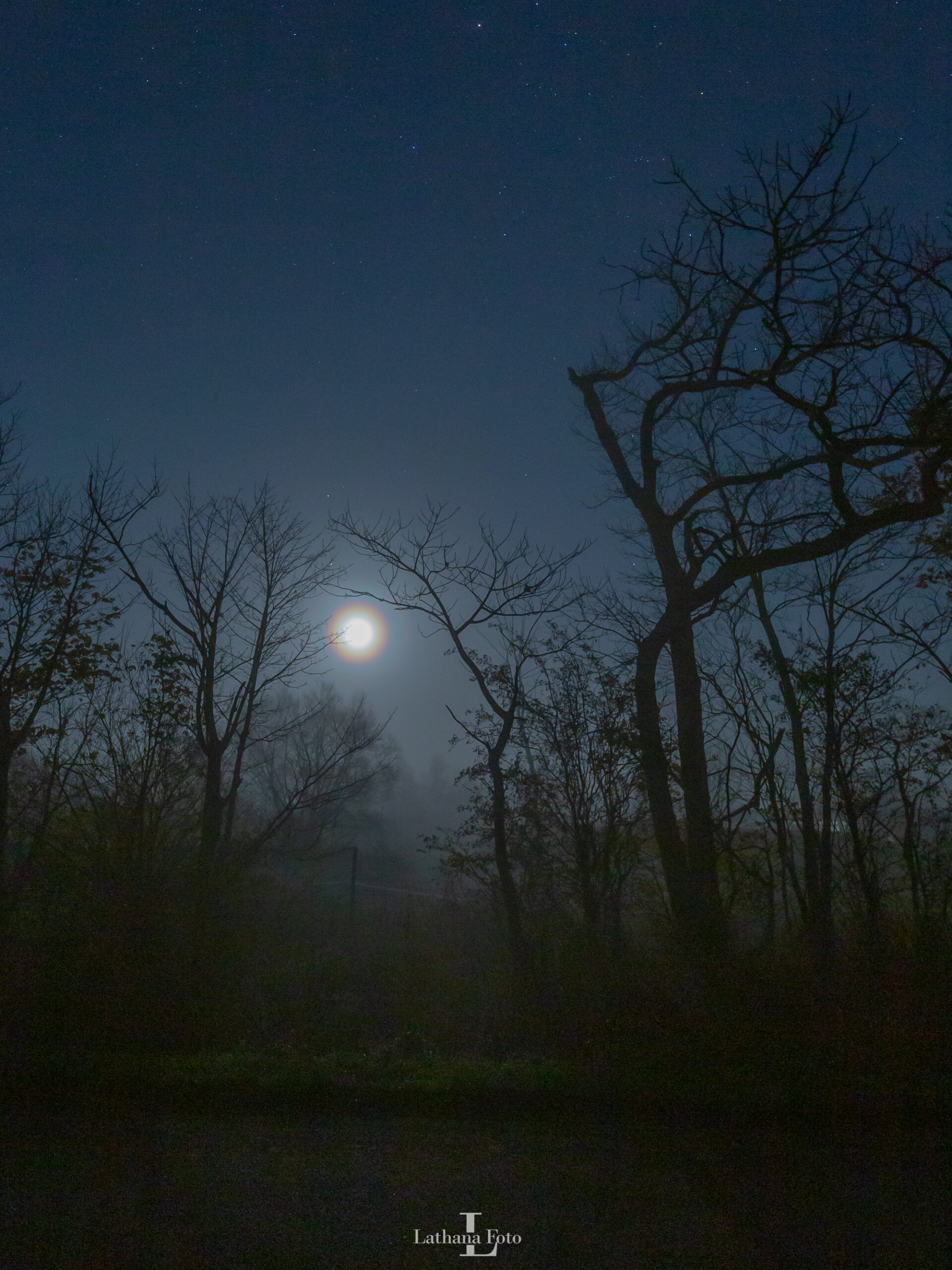 korona om månen 061120