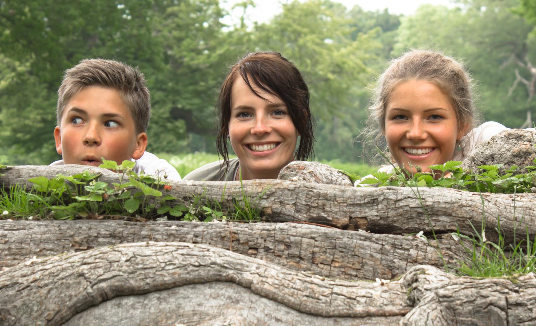 Caroline, Josefine og Martin